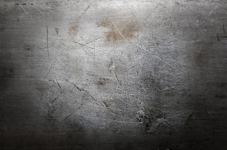 corroded: Scratched metal texture