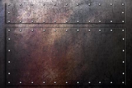 metal grunge: Grunge metal background, worn scratched steel texture