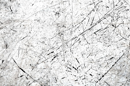 White scratched texture 写真素材