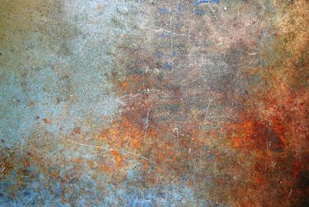 Rusted metal texture Standard-Bild