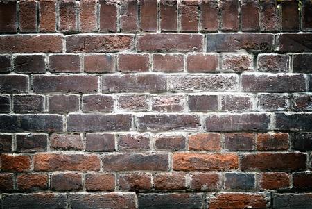 obsolete: Obsolete brick wall background