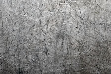 Scratched metal background Stock fotó