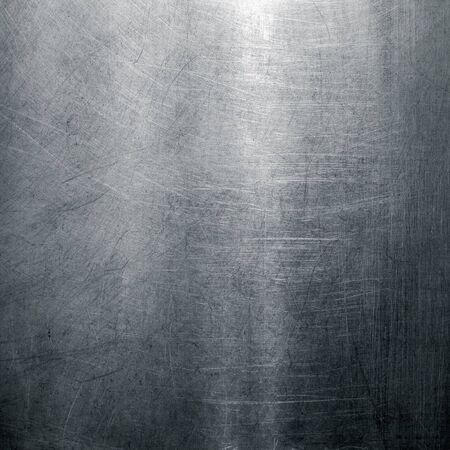 Stainless steel texture. Scratched metal surface
