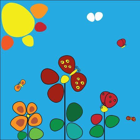 metamorphosis: The metamorphosis of the butterfly from flower