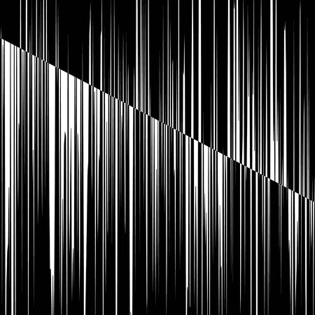 vertical black and white stripes