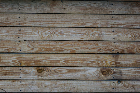 close up of wall made of wooden planks Stock fotó