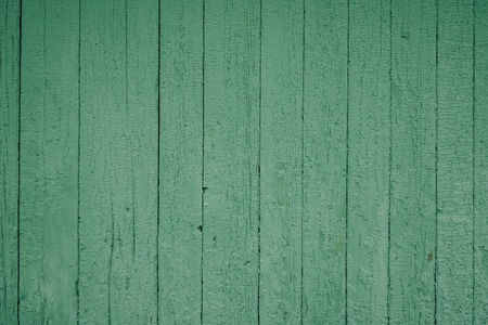 Background picture made of old green wood boards Banque d'images