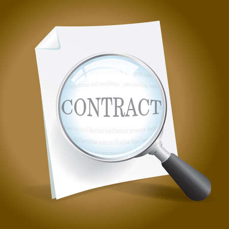 Examining a Contract or Legal Document