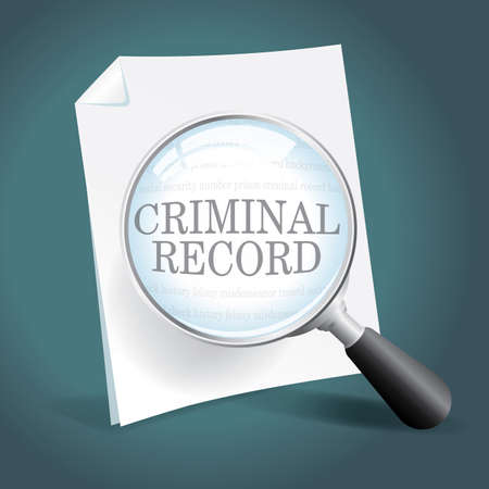 Taking a close look at a criminal record