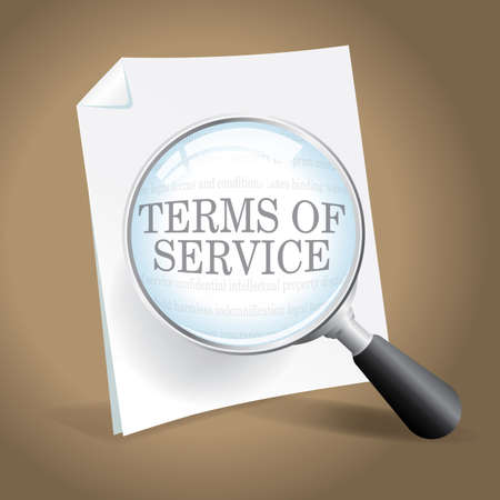 Taking a closer look at Terms of Service Illustration