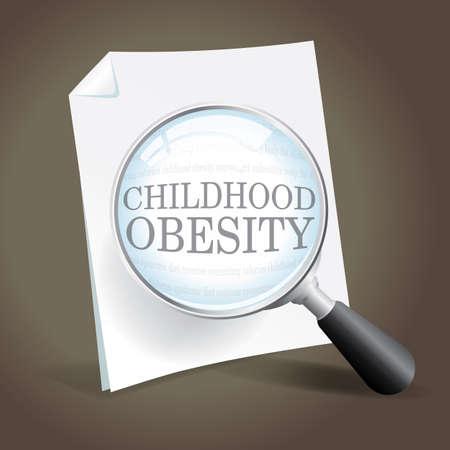 어린 시절 비만 전염병에 대해 자세히 살펴 본다