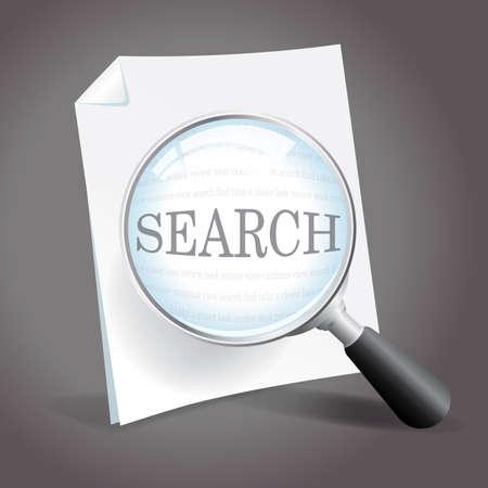 Search Concept Stock Vector - 18851288
