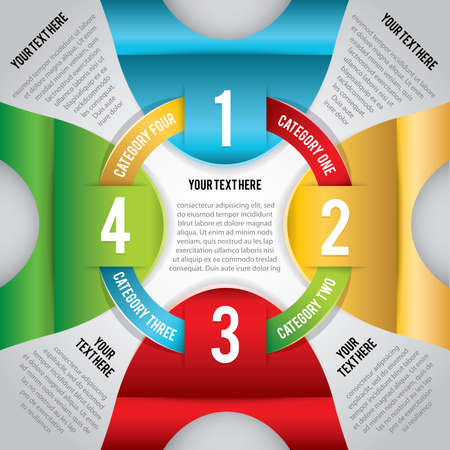 A modern infographic perfect for business, education, project workflow, step-by-step instructions, and more.