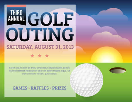 updating: A nice design for a golf tournament invitation. Elements are layered for easy updating of information or addingremoving from the design.  Fonts used: Bebas http:www.fontsquirrel.comfontsBebas?q=bebas Bree Serif http:www.fontsquirrel.comfontsbree- Illustration