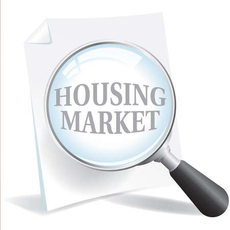 refinancing: Taking a closer look at the Housing Market Illustration