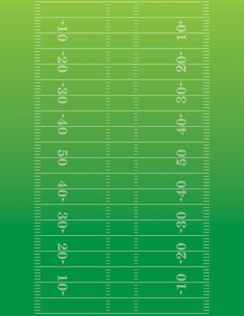 American football field background Vectores