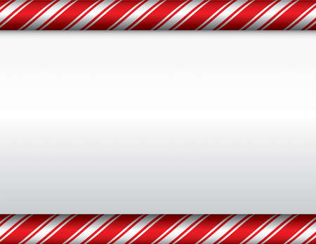 A red and white candy cane theme Christmas background. Vector EPS 10 available. EPS contains transparencies.