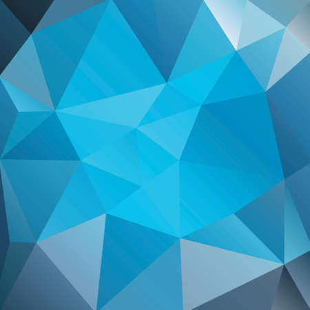 crystal background: An abstract background of blue triangles. Vector EPS 10 available. Illustration