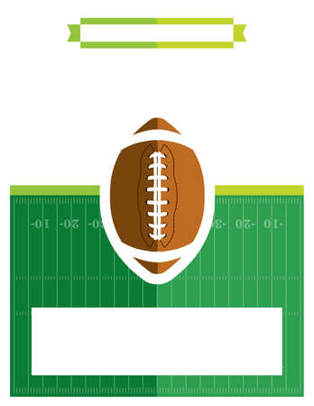 superbowl: A template flyer background for an American football game. Vector EPS 10 available. Illustration