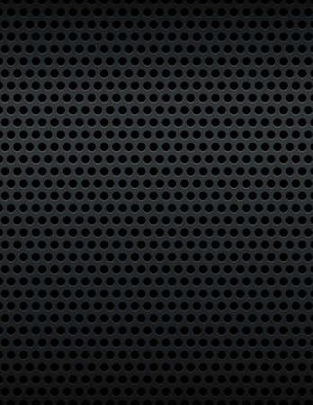 mesh: A black metallic mesh grill background.