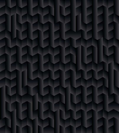 An abstract black and grey gradient geometric pattern background illustration.