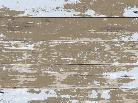 An aged whitewashed wood boards background illustration. Vector EPS 10 available.