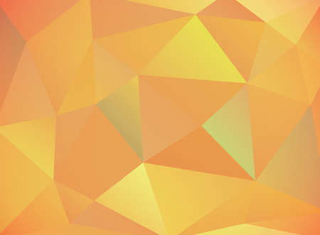 A warm palette of autumn colored abstract geometric pattern. Reklamní fotografie - 88429653