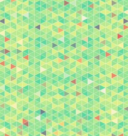 An illustration of abstract retro triangles pattern background. Vector EPS 10 available.