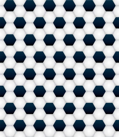 A seamless tiled soccer ball football background pattern illustration.