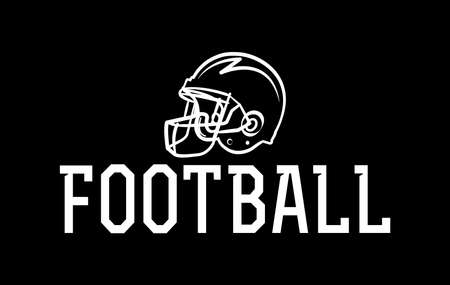 An American football helmet icon illustration. Vector EPS 10 available. Illustration