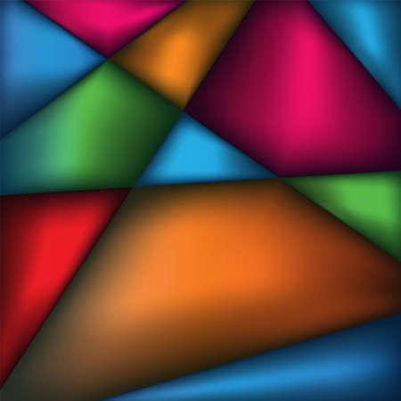 An abstract background of triangle geometric Illustration