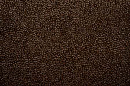 rawhide: leather texture of black sofa for background