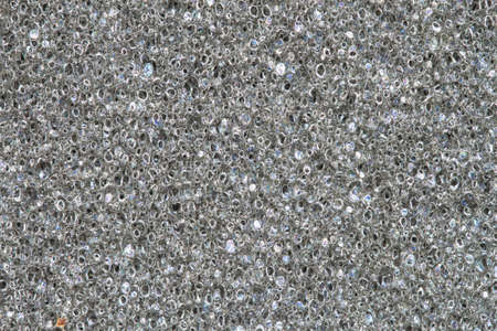 texture of gray sponge for background photo