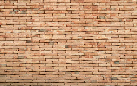 texture of old brick wall or ancient background in vintage style