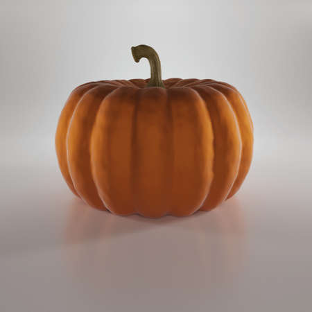 Pumpkin isolated on white background Imagens