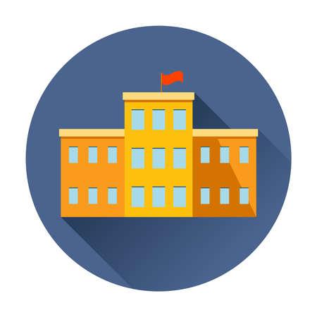 school building icon trendy vector Ilustrace