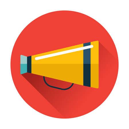 speaking trumpet: speaking trumpet icon vector trendy illustrations isolated
