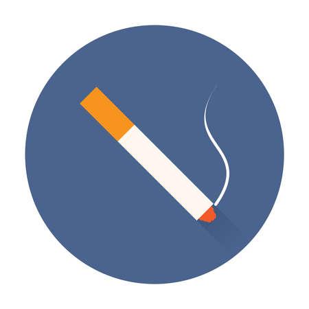 transistor: smok cigarrillo icono ilustraciones de vectores de moda aislados Vectores