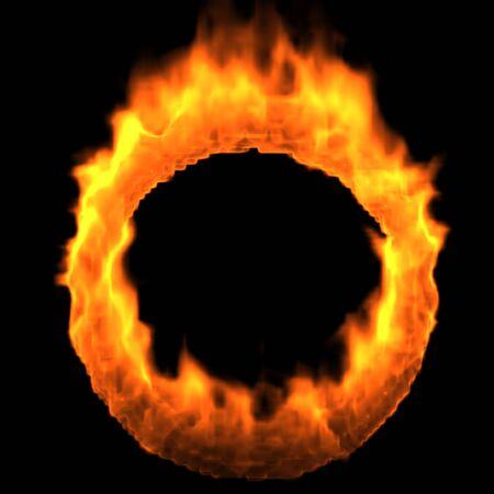 render: Ring of Fire. Render