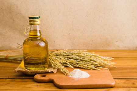lecithin: rice bran oil extacted from rice, healthy for cooking