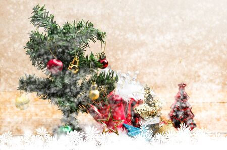 abstract background of christmas, snow for decorate  christmast day which international event