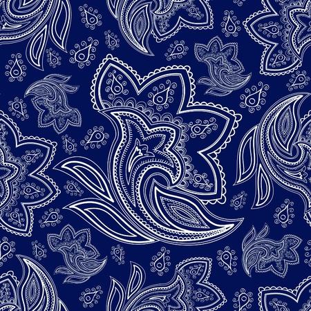 motif cachemire: Seamless paisley Banque d'images