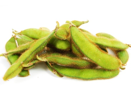 nibbles: edamame nibbles, boiled green soy beans, japanese food