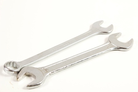 wrench on a white background photo