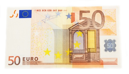 euro money on a white background Stock Photo - 15456817