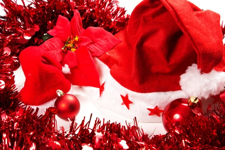 christmas decorations on a white background Stock Photo - 15993437