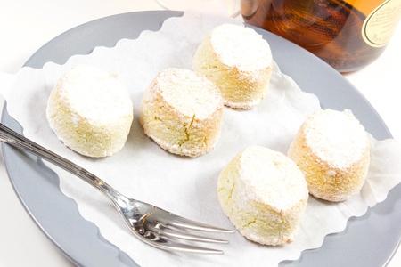 almond paste on a white background Stock Photo - 17006727