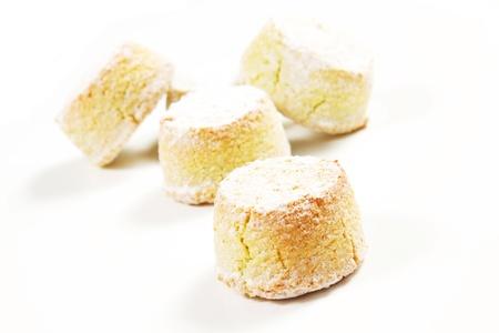 almond paste on a white background Stock Photo - 17006712