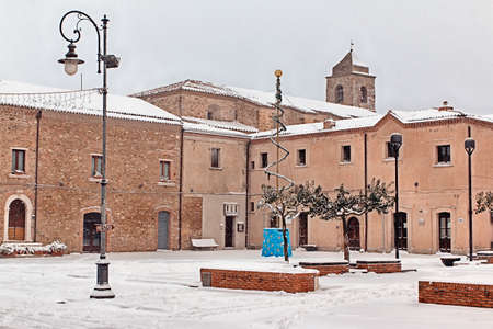 southern: Snowy country of southern Italy