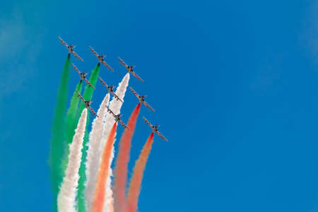 tricolors arrows Stock Photo